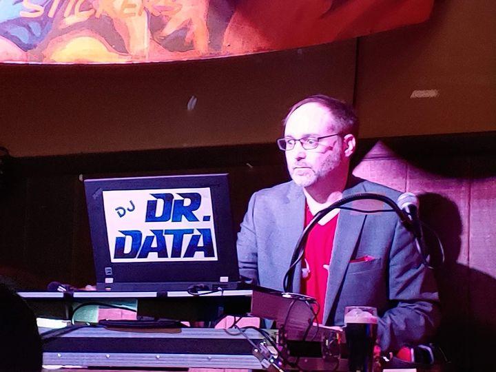 DJ Dr. Data as club DJ