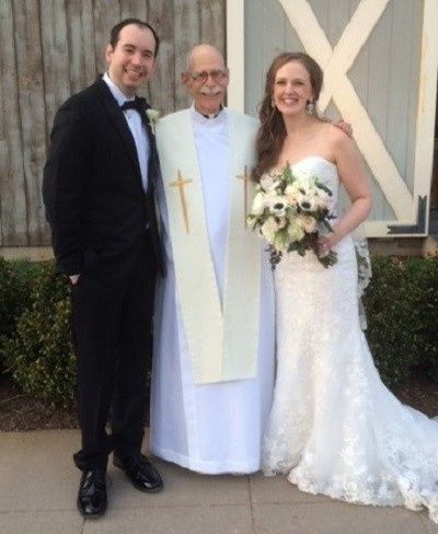 Together with the officiant