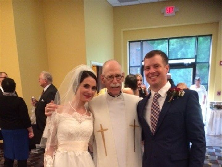 Tmx 1444153701478 2015 10 04 Caitlin  Jason Wedding Day Durham, North Carolina wedding officiant