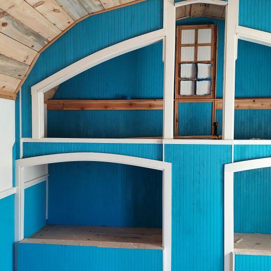 Bridal Party suite bunks.