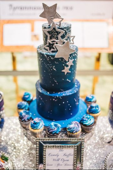 A starry night wedding at the museum | Photo by Rudy & Marta Photography
