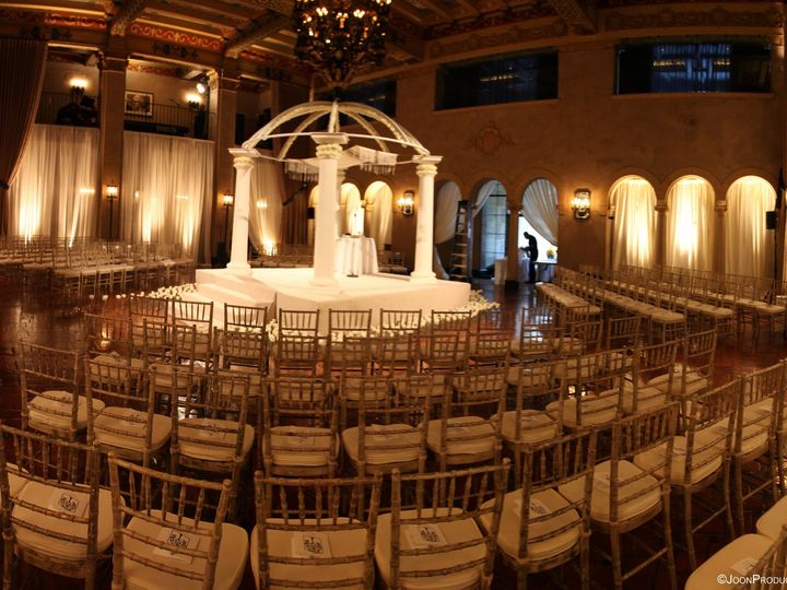 Tmx 1381521764367 Historic Lobby Ceremony Los Angeles, CA wedding venue