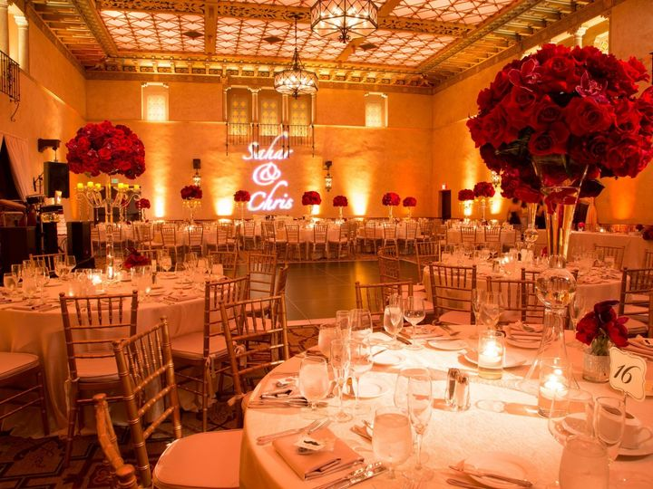 Tmx 1436399539141 Blossom Ballroom Red And Ivory   Copy   Copy Los Angeles, CA wedding venue