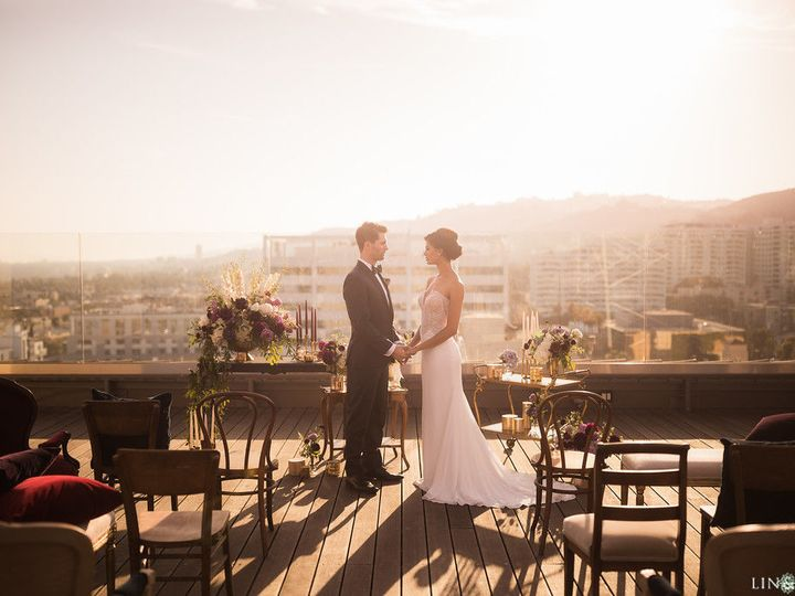 Tmx 1507054278 Db6689296edf68ba Rooftop Wedding  21  Los Angeles, CA wedding venue