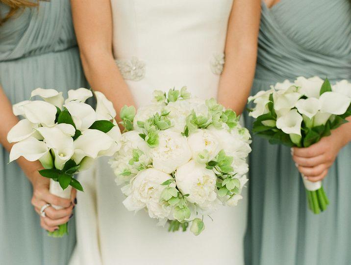 Three wedding bouquets