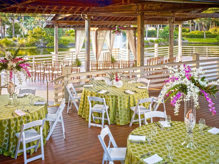 pavilion wedding