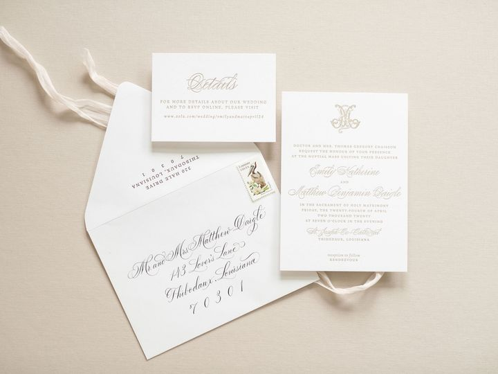 Tmx Amberleblancstudio May2020 18 51 1068035 159349148961592 New Orleans, LA wedding invitation