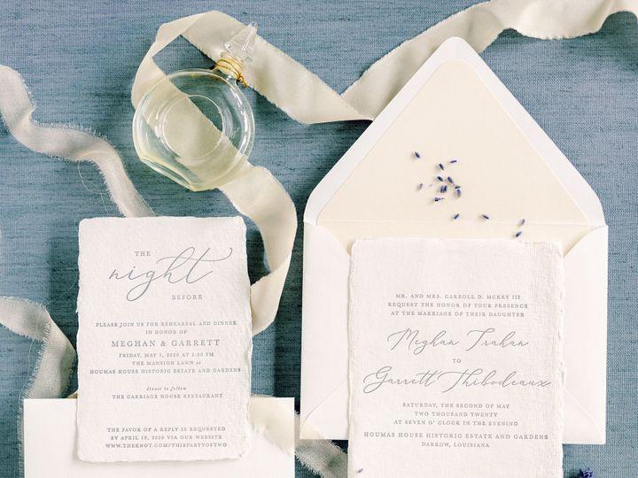 Tmx Amberleblancstudio May2020 1 51 1068035 159349146845815 New Orleans, LA wedding invitation