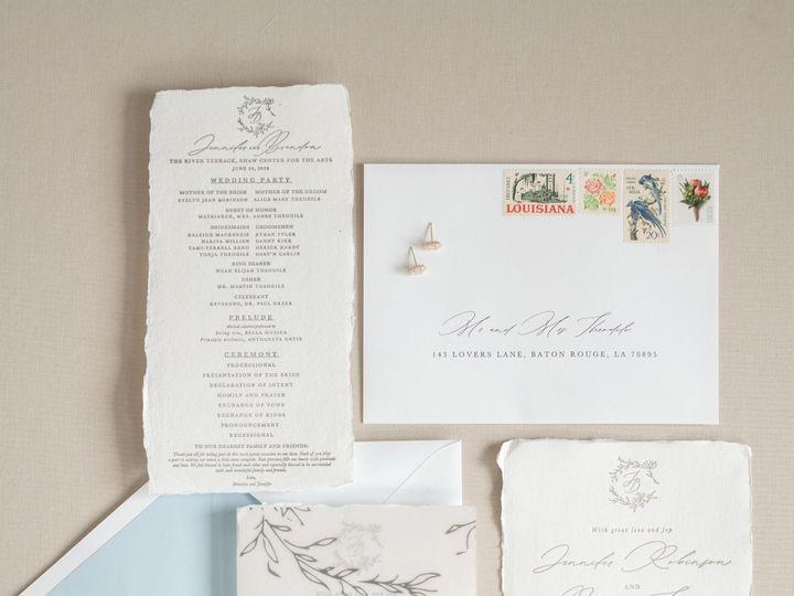 Tmx Amberleblancstudio May2020 37 51 1068035 159349152560941 New Orleans, LA wedding invitation