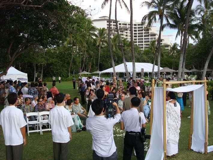 Wedding ceremony sound