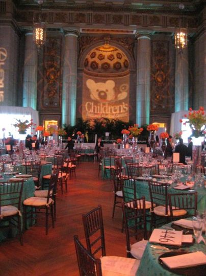 Dinner at the Mellon Auditorium
