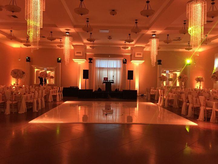 Wide ballroom