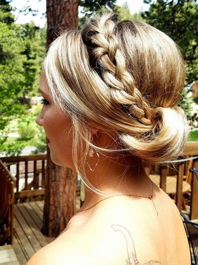 Braided hair designs