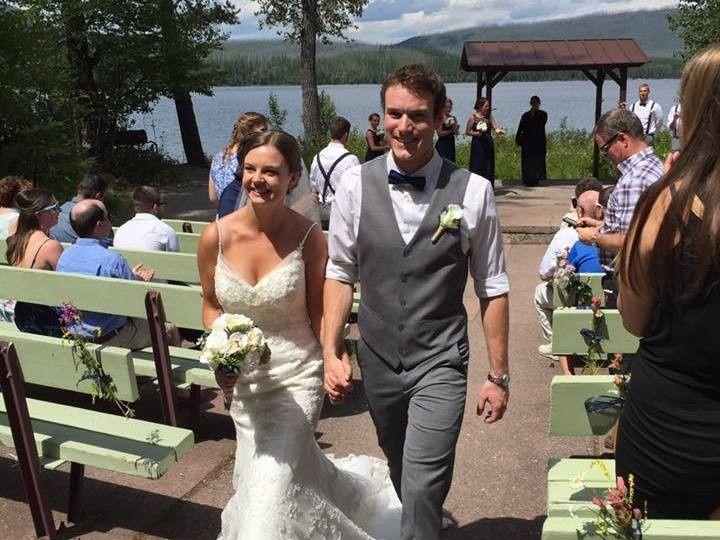 Tmx 1508275801435 Tyler  Kristen Haasch Ceremony In Gnp 7.2016 Kalispell wedding venue