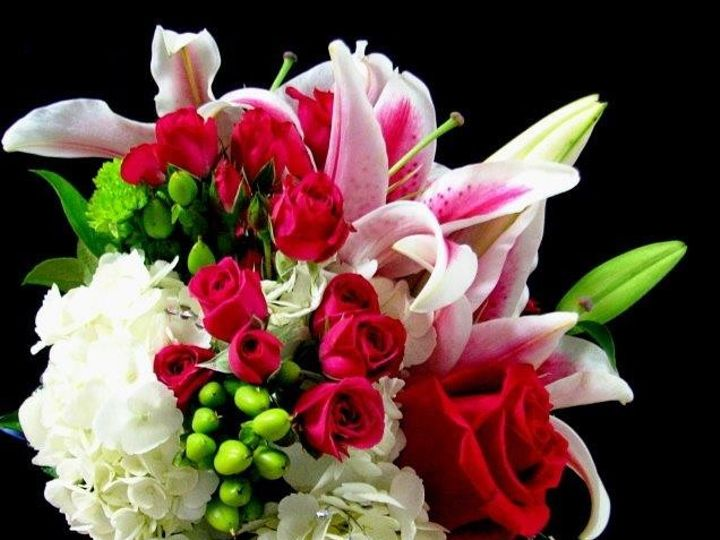 Tmx 1375362342625 Brides Maid Bouquet For Ceremony   Stargazer Tampa, Florida wedding florist