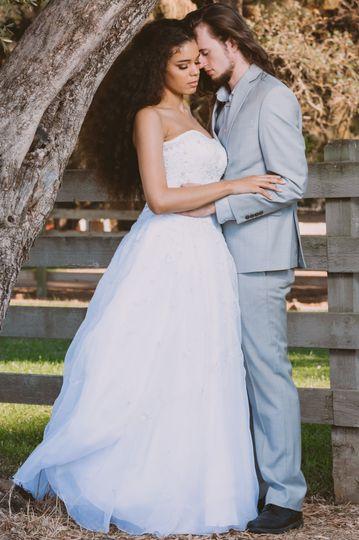 Outdoor park wedding