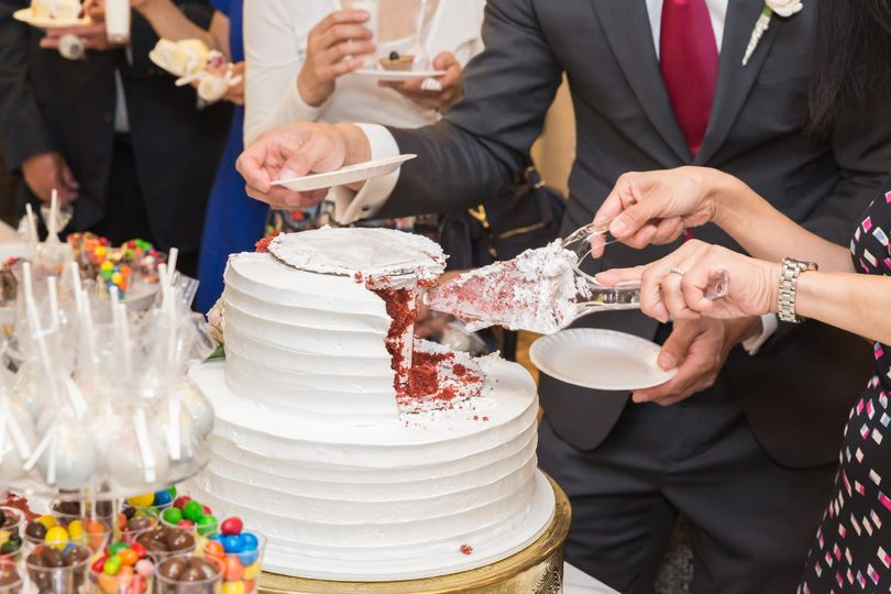 The cake cutting event