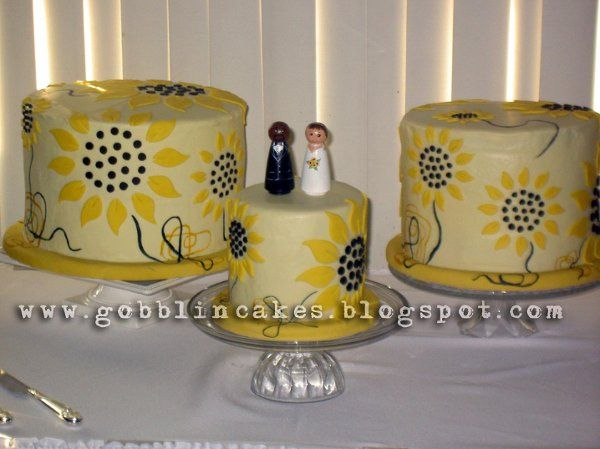 Tmx 1252588819557 Sunflowerthreeshotlogo Bloomfield wedding cake