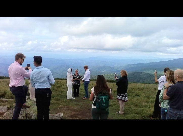 Roan Mountain Wedding