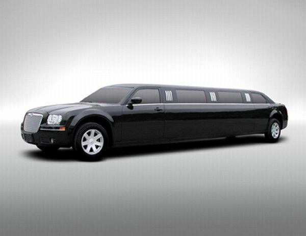 chrysler 300 limo blac