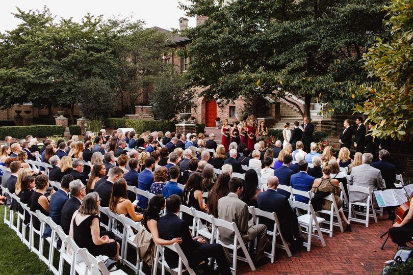 Ceremony in Warden Garden