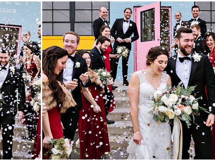 Tmx Urban Row Photo Wedding Exit Confetti Haven Street Ballroom 0036 51 1025135 157798064995850 Baltimore, MD wedding venue