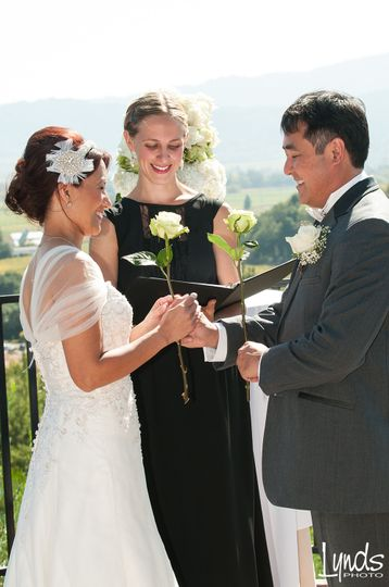 Rose Ceremony.  Image by Lynds Photo