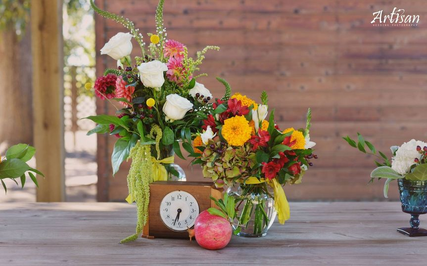 seasonal autumn centerpieces