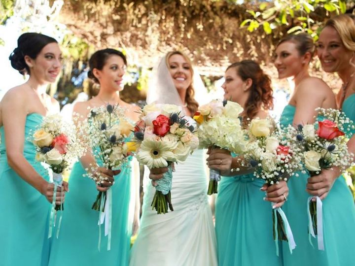 Tmx 1445628089315 Erika And Her Bridal Party Holding Flower Sorrento, FL wedding planner