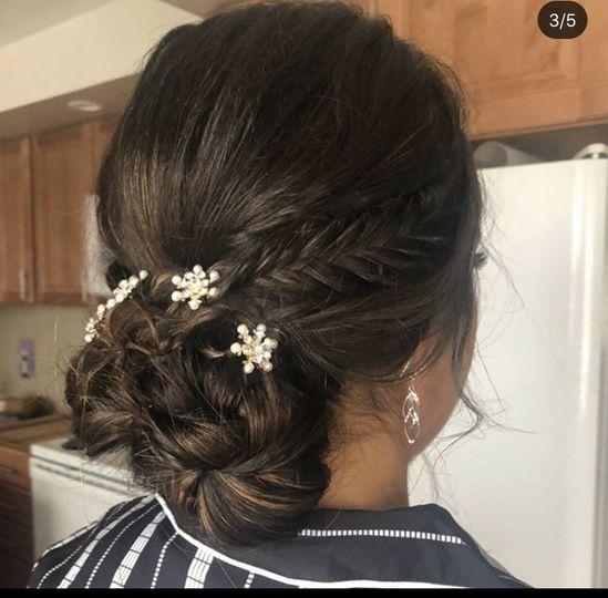 Bidal hair