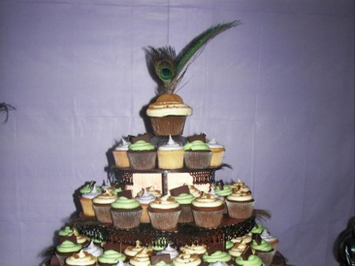 Tmx 1309316631624 Coppersagelavender2 Paso Robles wedding cake