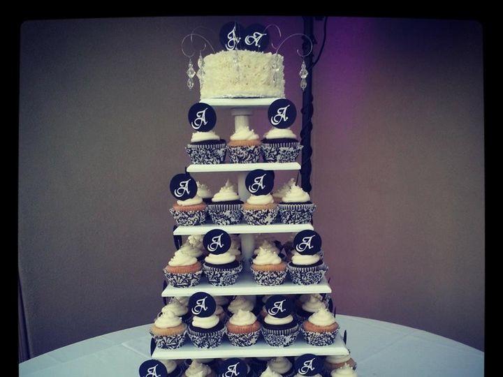 Tmx 1421296853019 Wedding 8 Paso Robles wedding cake
