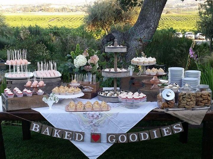 Tmx 1421296948667 Cakecookiepops Paso Robles wedding cake