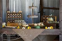 Tmx 1421297078505 Cupcakesrustictable Paso Robles wedding cake