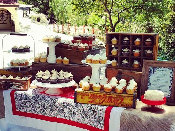 Tmx 1421297174491 Tablescape4 Paso Robles wedding cake