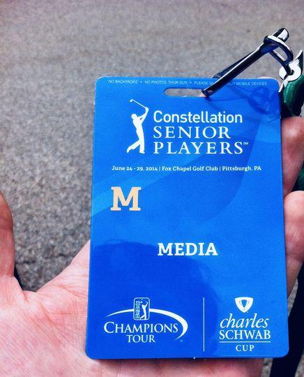PGA Media Badge