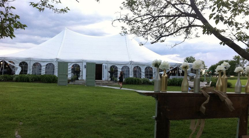 Wedding at Canvas Tent