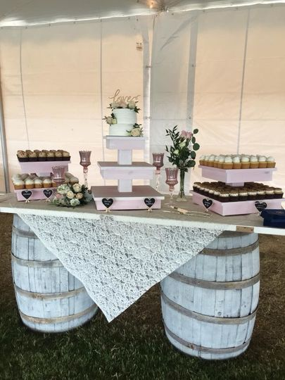 Sweet cakes table