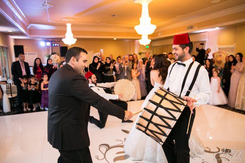 Wedding zaffe
