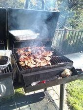 Fajitas on the grill!