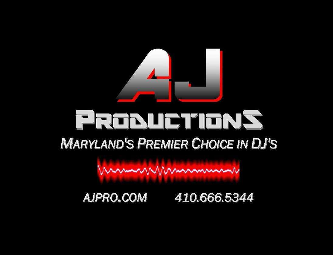 AJ Productions - Maryland's Premier Choice in DJ's