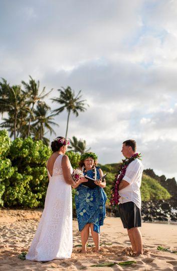 Gina & Greg, Palauea Beach