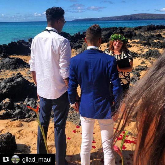 Gilad and Kyle, Makena Cove