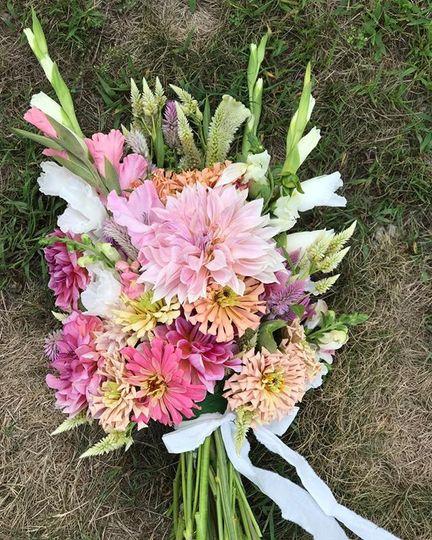 Organic farm bouquet