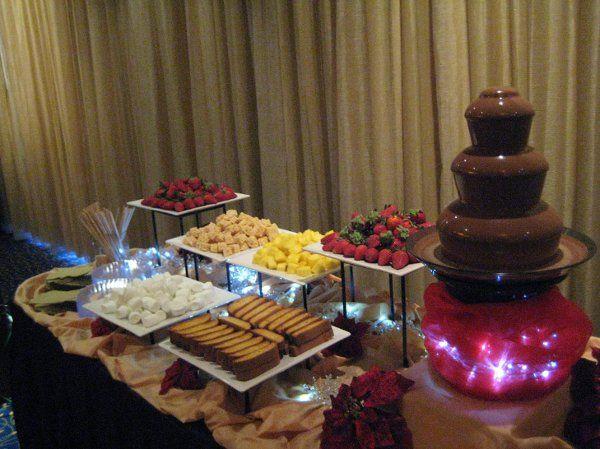 Orlando Chocolate Fountains Catering Winter Park Fl Weddingwire