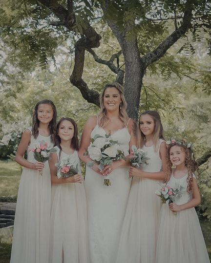 Bride & Daughters