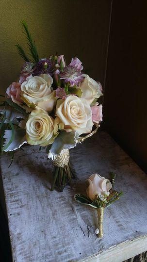 Bouquet Quick Sand Roses