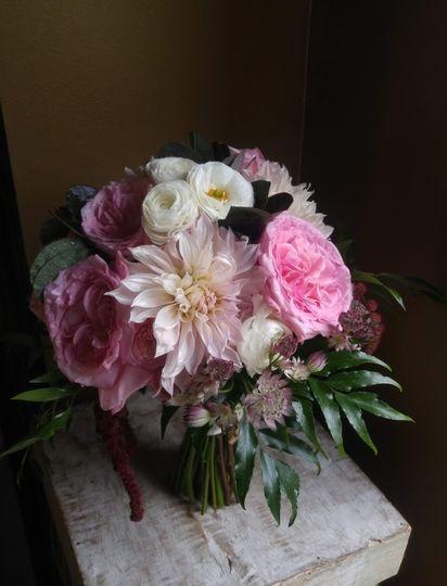 Bridal Bouquet Gardern Roses
