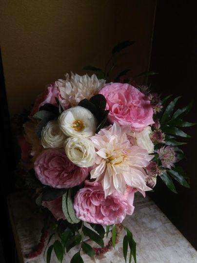 Bridal Bouquet, Dahlias ect