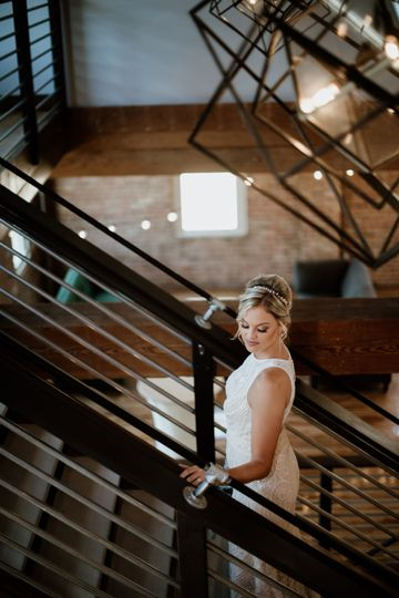 On the Staircase